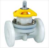 Válvula de diafragma de PVDF/válvula de diafragma plástica do diafragma valve/PVC