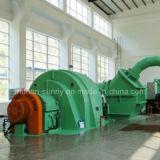 水力電気のPeltonのタービン発電機ステンレス製の鋼鉄ランナー水タービン交流発電機