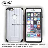Shs 2 vendedores calientes en 1 caja híbrida del teléfono de la PC fina estupenda de TPU para el iPhone 6