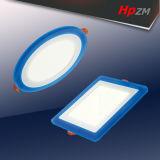 voyant carré de 3+2W LED