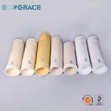Bolso de filtro industrial de Nomex del bolso de filtro del polvo de los media de filtro de bolso