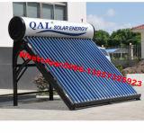 Colorear el calentador de agua solar de acero de la presión inferior