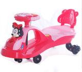 Новый автомобиль качания младенца Mickey шаржа конструкции 2016