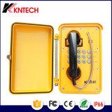 Teléfonos resistentes al aire libre y del tiempo Knsp-01t2s de Kntech