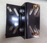 Tôle faite sur commande de qualité estampant la bride de longeron de guide d'ascenseur