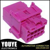 15の方法平らな女性のピンクの自動配線用ハーネスのコネクター