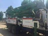 37m 구체 납품 350~450HP 2003/26ton에 의하여 사용되는 8*4-LHD-Drive Isuzu 포좌 Schwing 펌프 트럭