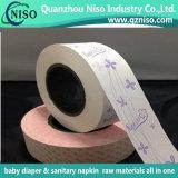Papier de desserrage de silicones de serviette hygiénique avec la conformité de GV