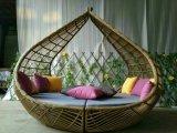 Handmade кровать валика ротанга PE