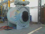 Válvula de esfera grande de Turnnion da carcaça do tamanho