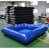Small Blue Inflatable Pool/High Quality PVC Inflatable Pool