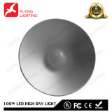 100W LEDセリウム、FCC、RoHSが付いている屋外の産業高い湾ライト