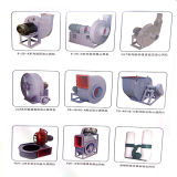 Aspiration de granules de Yuton et ventilateur centrifuge à haute pression épuisant