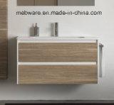 陶磁器の洗面器の浴室の虚栄心の現代デザイン様式の浴室用キャビネット