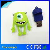 Divertido de goma de monstruo USB Flash Drive 2 GB 4 GB 8 GB