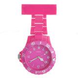 Nuevo reloj plástico de la enfermera de la manera con impermeable