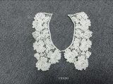Encolure de lacet de collier de lacet de coton de motif de lacet d'Accessrory d'habillement de dames
