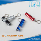 Cheap Custom Made Metal LED Keychain Light en vrac, mini-miroir promotionnel Mini