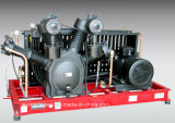 Compresor de aire del acero inoxidable