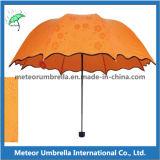 طباعات فقط يستطيع رأيت في مطر يطوي زهرة مظلة