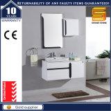 Cabina de cuarto de baño pintada blanca arriba brillante elegante moderna del diseño