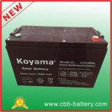bateria acidificada ao chumbo do AGM de 12V 100ah para telecomunicações, solar & UPS