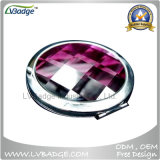 Espelho cosmético de diamante, espelho cosmético de mini-maquiagem para presentes