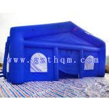 Tissu gonflable bleu d'Oxford de tentes, tente gonflable de grands mariages