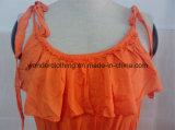夏のセクシーな卸し売り綿の方法夕方の女性の服
