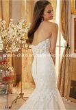 Morilee Mori Lee Spitze-Tulle-Satin-Nixe-Trompete-Schatz-Hochzeits-Kleid (Dream-100045)