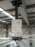 La cobertura grande, la estación económica de energía 2.2kw de los 7.4m (los 24FT) utiliza el ventilador industrial