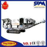 Broyeur mobile concasseur mobile de minerai de fer d'usine de minerai de fer