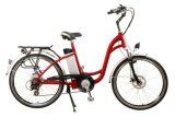 Bici/bicicleta eléctricas de la ciudad de aluminio del marco económico de la aleación para las señoras