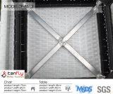 Il bistrot del rattan del blocco per grafici della fusion d'alluminio di disegno moderno pospone gli insiemi