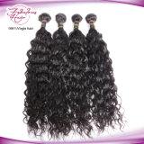 加工されていなく自然な波のブラジルのバージンの毛の拡張100%人間の毛髪