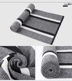 人の方法ウールによって編まれる冬の暖かく長いスカーフ(YKY4617)