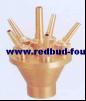 Seedpod типа сопла лотоса брызга в нержавеющей стали или латуни