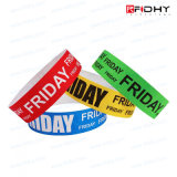Beau et bon marché Wristband de Tyvek RFID d'utilisation de seul jour pour des événements d'exposition