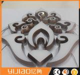 Segni elettronici usati e mini lettere acriliche della Manica del LED