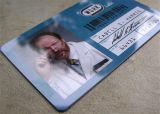 IDENTIFICATION RF sans contact Smart Card de PVC d'identification des tâches blanc d'affaires