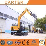 Máquina escavadora Potência-Diesel da esteira rolante de CT85-8A (8.5t &0.34m3)