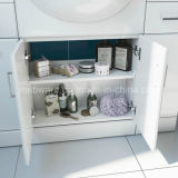 MDF Bathroom Vanity Unit Basin di 550mm Gloss White