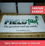 Vinil ao ar livre feito sob encomenda do PVC do grande formato que anuncia bandeiras