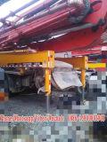 Camion utilizzato della pompa per calcestruzzo 52meter, telaio del benz
