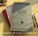 Caderno feito sob encomenda da composição da espiral da venda por atacado do caderno