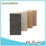 Pavimentadora de cerámica gris/del negro natural para solar con el certificado del CE
