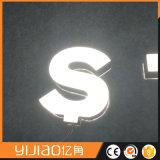 Le double dégrossit signe lumineux acrylique de lettre