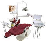 Présidence dentaire colorée patiente ergonomique neuve de lampe de détecteur du modèle DEL