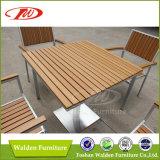 Polywood que janta o jogo, jogo de jantar de madeira plástico