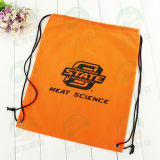 Polyester personalizzato 210d Drawstring Bag con Log M.Y D-003